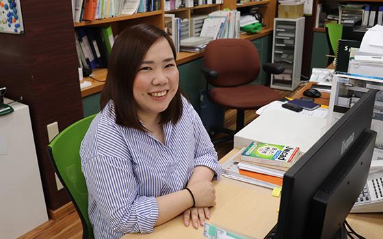 リボンガス株式会社 村上 智子