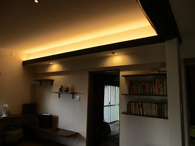 リフォーム施工実績 寝室 間接照明