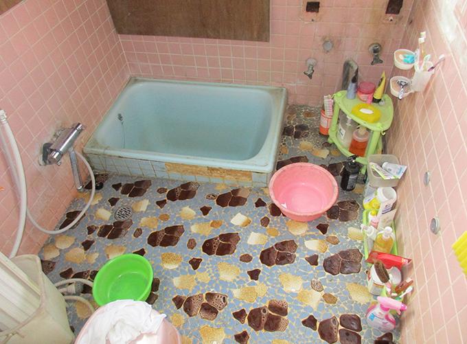 リフォーム施工実績 浴室 ビフォー