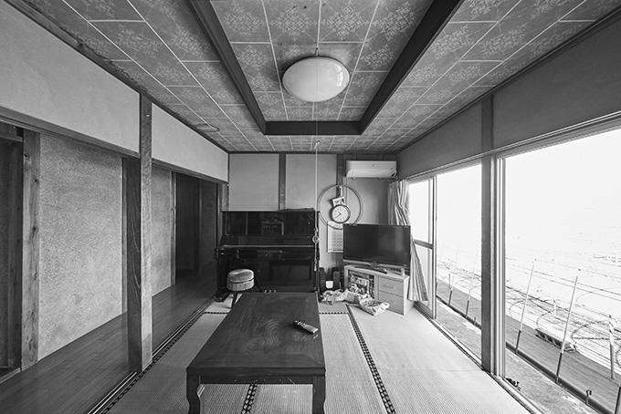 リフォーム施工実績 和の雰囲気を活かしつつ天井を高く開放的な空間に ビフォー