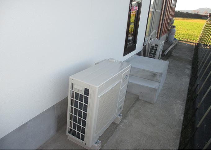 リフォーム施工実績 温水床暖房 ユカカラ暖房 電気式ヒートポンプ
