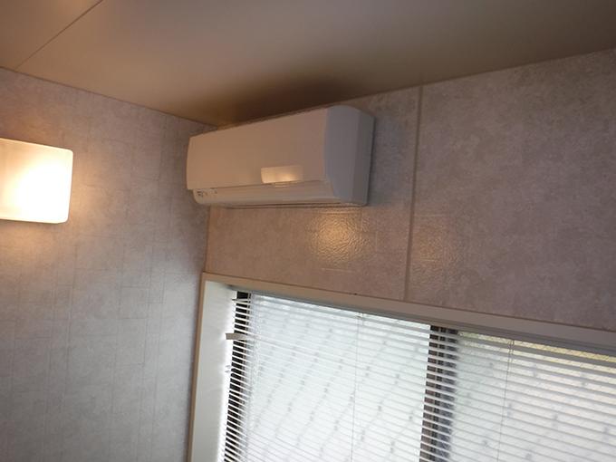 リフォーム施工実績 浴室暖房乾燥機