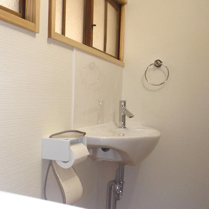 広く使いやすいトイレへ