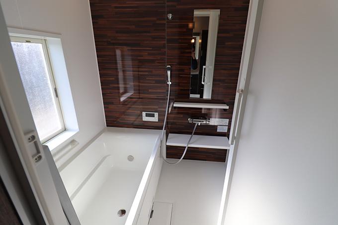 リフォーム施工実績 浴室改修で家事も楽々 浴室 アフター
