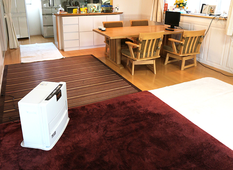 床暖房リフォーム事例 ビフォーアフター